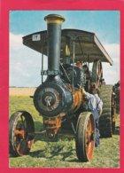 Modern Post Card Of Transport,Trucks,Steam Powered Burrell Road Engine No.3798,Made 1919,X38. - Trucks, Vans &  Lorries