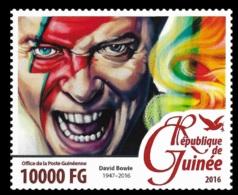 Guinea David Bowie Music Singer 1v Stamp Michel:11635 - Unclassified