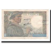 France, 10 Francs, 1941-1949, 1947-01-09, TTB+, Fayette:08.17, KM:99e - 1871-1952 Gedurende De XXste In Omloop