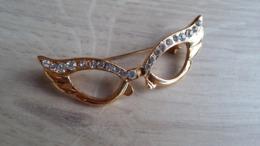 Modeschmuck - Anstecker In Brillen-Form - Non Classificati