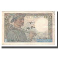 France, 10 Francs, 1941-1949, 1947-01-09, SUP, Fayette:08.17, KM:99e - 1871-1952 Antichi Franchi Circolanti Nel XX Secolo