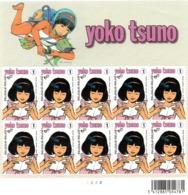 N° 3922 - 2009 - YOKO TSUNO En Feuillet De 10 (neufs Sans Charnière) - Cote 130,00 € - Belgien