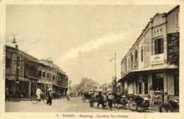 Tonkin HAIPHONG Carrefour Paul Doumer Mobiloil  RV - Viêt-Nam