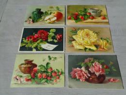 Beau Lot De 20 Cartes Postales De Fantaisie  Illustrateur Catharina Klein ( Pas Signée ) Fleur   20 Postk. Bloemen Bloem - Postkaarten