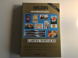 L'Officiel International Des CARTES POSTALES - NEUDIN 1984 - Libri