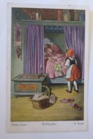 Märchen, Brüder Grimm, Rotkäppchen, 1926 , O. Kubel  ♥ (61980) - Fairy Tales, Popular Stories & Legends