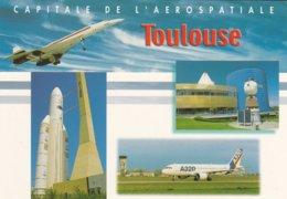 31----TOULOUSE---capitale De L'aérospatiale---multi-vues--voir 2 Scans - Toulouse