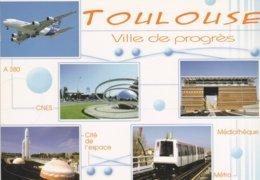 31----TOULOUSE---ville De Progrès---multi-vues--voir 2 Scans - Toulouse