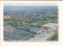 31----TOULOUSE---aéroport International TOULOUSE-BLAGNAC--voir 2 Scans - Toulouse