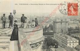 94.  VINCENNES .  Panorama . Donjon Et Porte Principale Du Château . - Vincennes