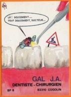 "Georges NEMOZ  Illustrateur   "" DENTISTE CHIRURGIEN  83310 COGOLIN ""     CPM  Sur La DENTISTERIE - Künstlerkarten"