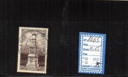 FRANCE OBLITÉRÉ - N° 1065 - Usados