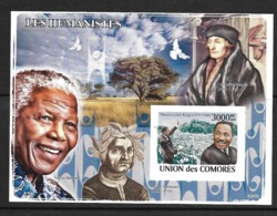 UNION DES COMORES 2008 HUMANISTES  YVERT N°B140 NON DENTELE  NEUF MNH** - Martin Luther King