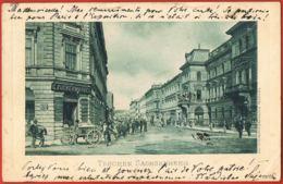 Teschen Sachsenberg -Polska- Original Post-card Circulated 1900- Scans Recto Verso - Paypal Free - Polen