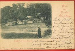 Gruss Aus Teschen Hmgebung -Polska- Das Dritte Wher In Blogotitz -original Post-card Circulated 1899- Recto Verso - Polonia