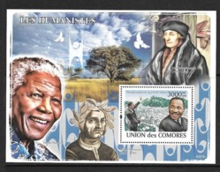 UNION DES COMORES 2008 HUMANISTES  YVERT N°B140   NEUF MNH** - Martin Luther King