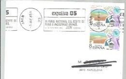 MATASELLOS  1985    JAEN  EXPOOLIVA - 1931-Hoy: 2ª República - ... Juan Carlos I