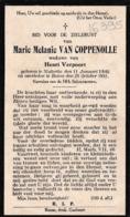 Nukerke, Ronse, 1931, Marie Van Coppenolle, Verpoort - Devotieprenten