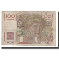 France, 100 Francs, 1946, 1946-07-18, B+, Fayette:28.07, KM:128a - 1871-1952 Antichi Franchi Circolanti Nel XX Secolo