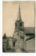 CPA  02 : MENNEVILLE   église   A  VOIR   !!!! - France