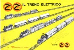 Catalogue RIVAROSSI 1960 RR Il Treno Elettrico HO 1/87 -   En Italien - Livres Et Magazines