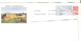 Calvados Lot De 2 PAP Repiquage Luquet Cons La Grandville Et Vierville-sur-Mer  Entiers Postaux - Entiers Postaux
