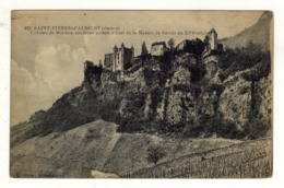 Cpa N° 422 SAINT PIERRE D ' ALBIGNY Château De Miolans Ancienne Prison D' état De La Maison De Savoie Au XVIe Siècle - Saint Pierre D'Albigny