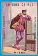 IMAGE AU COIN DE RUE MAGASINS WEIMANN REIMS COSTUMES CONFECTIONS / LA MOSE SOUS HENRI II - Other