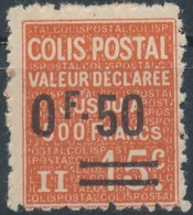 FRANCE - 1926, Yt CP55, Neuf * - Colis Postaux