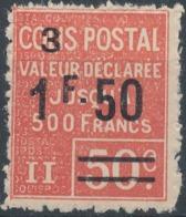 FRANCE - 1926, Yt CP62, Neuf * - Colis Postaux