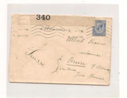 GRANDE BRETAGNE 1915 ENVELOPPE DE LONDON POUR ORVIN  ( SUISSE) - Postmark Collection