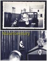 Photo , Adolf Hitler , Propaganda  , WW2 , Reich , Foto , Hitler  , 39-45 , Propagande , Privée , Oldtimer , Auto . - Lieux