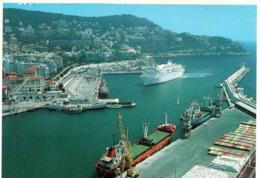 Nice - Le Port Et Le Cap De Nice , Arrivée D 'un Bateau De Corse - Transport Maritime - Port