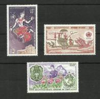 Laos POSTE AERIENNE N°108 à 110 Neufs** Cote 5.15 Euros - Laos
