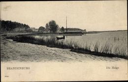 Cp Brandenburg An Der Havel, Uferpartie Malge, Ruderboot - Deutschland
