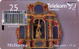 Slovenia, Slovenija, Slowenien, Telekom Slovenije - TS238. Rare Phonecard - Churches. Only 9.981 Pieces Issued. - Slovénie