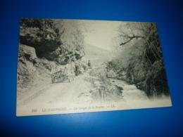 Carte Postale  Isere Drome Dauphiné Gorges De La Bourne Attelages Animées - Francia
