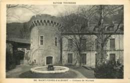73 - SAINT PIERRE D'ALBIGNY - CHÂTEAU DE MIOLANS - Saint Pierre D'Albigny