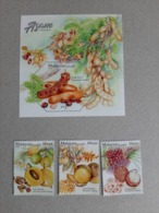 2019 Malaysia Sour Fruit Food Flower Flora Plant Tree Combo Stamp Set & MS Miniture MNH - Malaysia (1964-...)