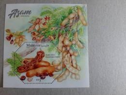 2019 Malaysia Sour Fruit Food Flower Flora Plant Tree Stamp MS Miniture MNH - Malaysia (1964-...)