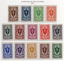 Cameroun YT 249-262  XX / MNH Série De Londres - Cameroun (1915-1959)