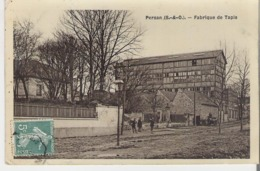 PERSAN. CPA Voyagée En 1908 Fabrique De Tapis - Persan