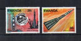 RWANDA - 1976 - Spazio - Apollo-Soyouz - 2 Valori - Usati - (FDC18187) - Rwanda