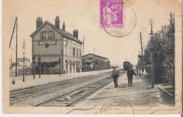 PIERRELAYE. CPSM Voyagée La Gare - Pierrelaye