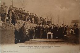 Froyennes Lez Tournai // Pose De La Premiere Pierre Du Pensionnat 1904 / 19?? Small Defects Border - Tournai
