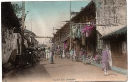 Native City Shanghai - 2, - 1919 - China