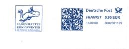 EMA Bleu Sur Fragment 14.09.09 – Dragon Sagenhaftes Köningswinter - Postzegels