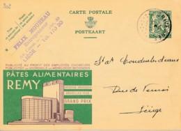 Publibel 202, 1935 – Pâtes Alimentaires Remy Grand Prix Bruxelles 1935 - Publibels
