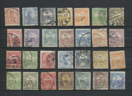 HUNGARY Early Used Stamps Study And Postmark Collection  73 Stamps HONGRIE - MAGYARORSZAG - Hungary