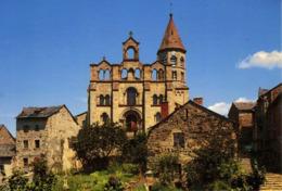 CPM  43260 SAINT JULIEN CHAPTEUIL Façade église Romane - France